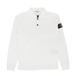 Stone Island Polo Shirt White