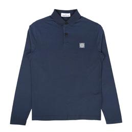 Stone Island Polo Shirt Blue Marine