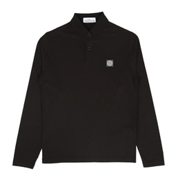 Stone Island Polo Shirt Black