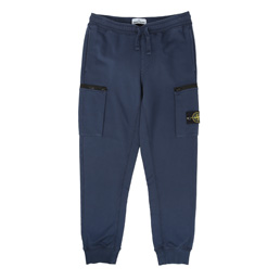 Stone Island Fleece Pants Blue Marine