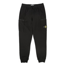 Stone Island Fleece Pants Black
