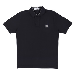 Stone Island Polo Shirt Navy Blue