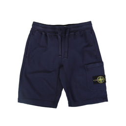 Stone Island Fleece Bermuda Shorts Ink