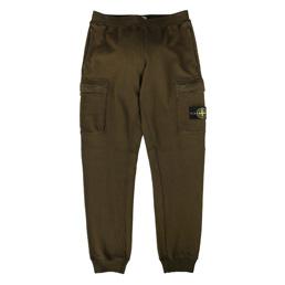 Stone Island Fleece Pants Military Green