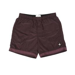 Stone Island Shorts Burgundy