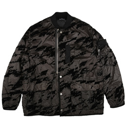 Shadow Project - Bomber Jacket- Black