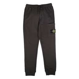 Stone Island Fleece Pants Charcoal