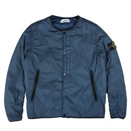 Stone Island Light Overcoat Dark Blue