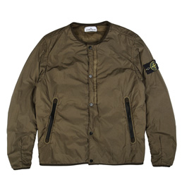 Stone Island Light Overcoat Olive