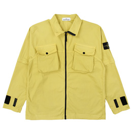 Stone Island Overshirt Dark Yellow