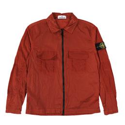 Stone Island Overshirt Brick Red