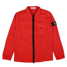 Stone Island Overshirt Red Orange