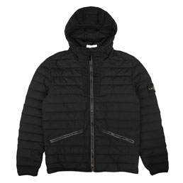 Stone Island Real Down Jacket Marine Black