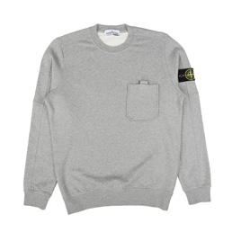 Stone Island Sweatshirt Dust Grey