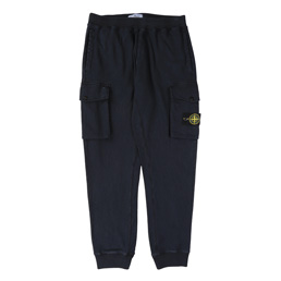 Stone Island Fleece Pants Navy Blue