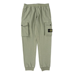 Stone Island Fleece Pants Sage Green