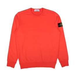 Stone Island Sweatshirt Red Orange