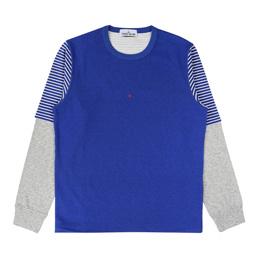 Stone Island Sweatshirt Periwinkle