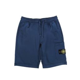 Stone Island Fleece Shorts Marine Blue