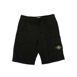 Stone Island Fleece Shorts Black