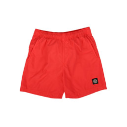 Stone Island Shorts Red Orange