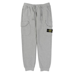 Stone Island Fleece Pants Dust Grey