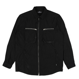 Shadow Projects Light Overcoat Black