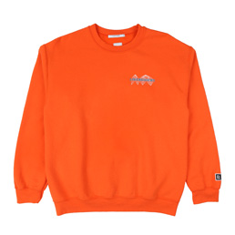 Liberaiders LR Space Race Crewneck Orange