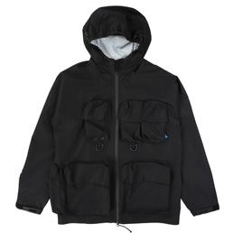 Liberaiders Transport 3 Layer Jacket Black