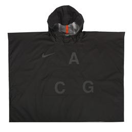 NikeLab ACG 3L PKBL Poncho - Black