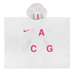 NikeLab ACG 3L PKBL Poncho - White