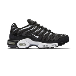 Nikelab Air Max Plus - Black/Sail-Salsa Red