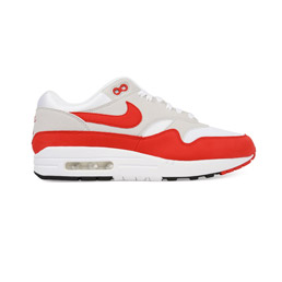 Nike Air Max 1 Anniversary - White Uni Red