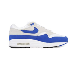 Nike Air Max 1 Anniversary - White Game Royal
