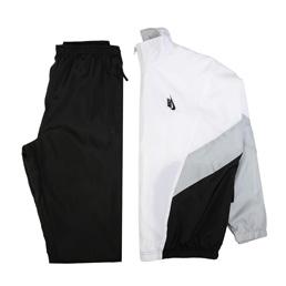 NikeLab Heritage Track Suit - Black/White/Wolf