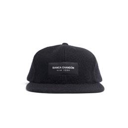 Bianca Chandon BCNY Wool Cap Black