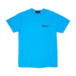 Bianca Chandon Peaches T-Shirt Cyan