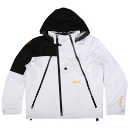 NikeLab ACG Deploy Gortex Jacket - White/Black