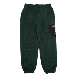 Thames Fleece Track Pants Green
