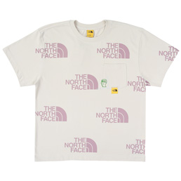Braindead x TNF M S/S Pocket T-Shirt - Moon Ivory