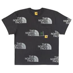 Braindead x TNF M S/S Pocket T-Shirt - Ash Grey