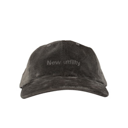 Affix New Utility Embroidered Velvet Cap Grey