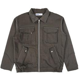 Affix Bomber Jacket Nylon Grey