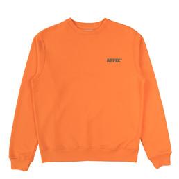 Affix Basic Sweatshirt Orange