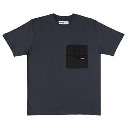 Affix Heavyweight Pocket T-Shirt - Dark Grey