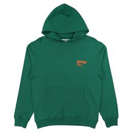 Affix Standardise Hoodie Service Green