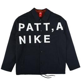 Nike X Patta Coach Jakcet - Dark Obsidian