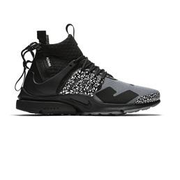 Nike Air Presto Mid/ACRONYM - Cool Grey/Black