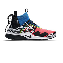 Nike Air Presto Mid/ACRONYM - Racer Pink/Black
