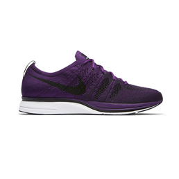 Nike Flyknit Trainer - Night Purple/Black-White